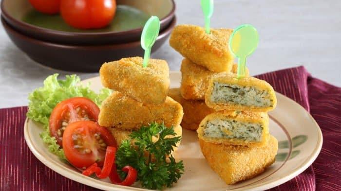 Resep Nugget Tahu Bayam