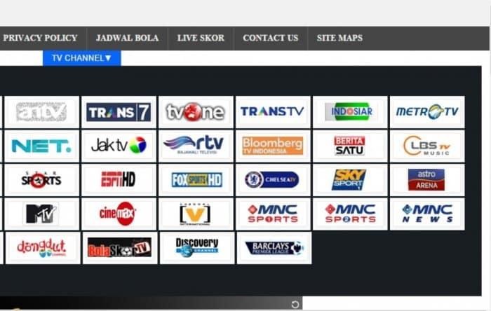 Aplikasi cari Indonesia TV, nonton TV udah dimana pun