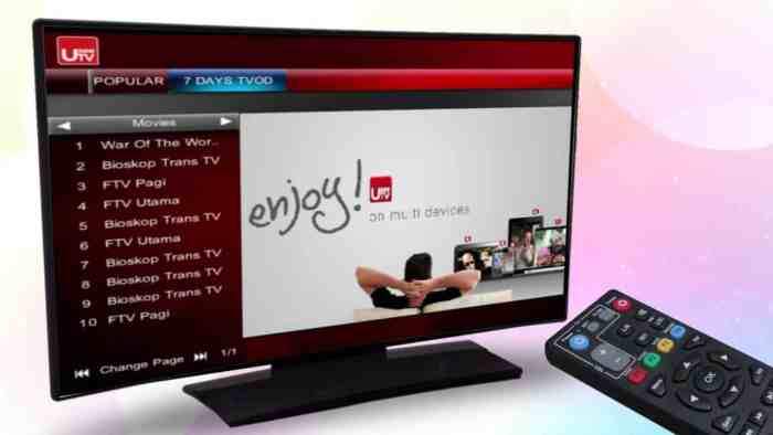 Aplikasi untuk Nonton TV, Usee TV berkualitas