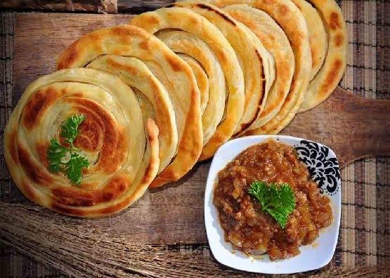 Pembuatan Resep Roti Maryam Tanpa Menggunakan Telur