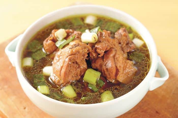 Resep Rawon Isi Ayam Spesial