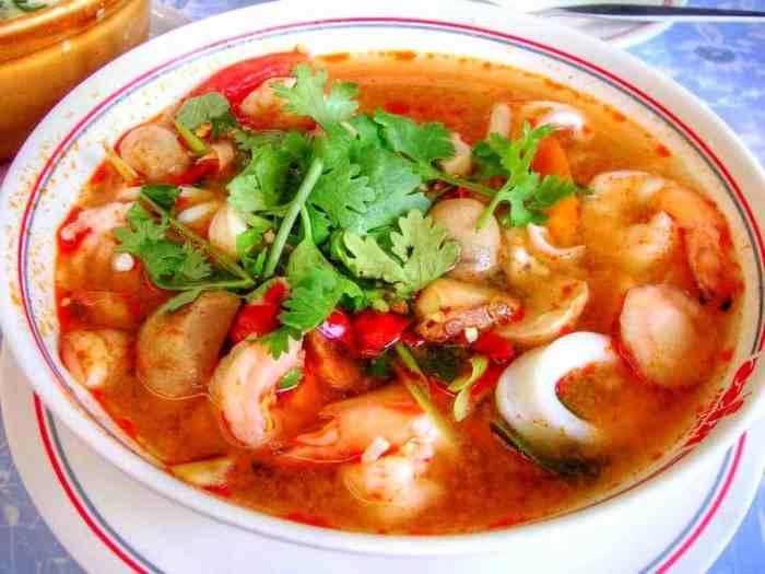 Resep Tom Yam Seafood