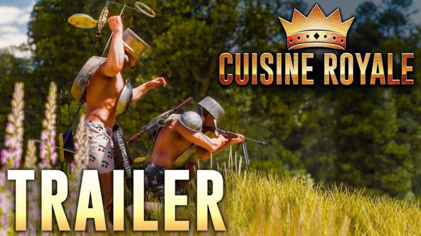 GAME ONLINE THE CUISINE ROYALE