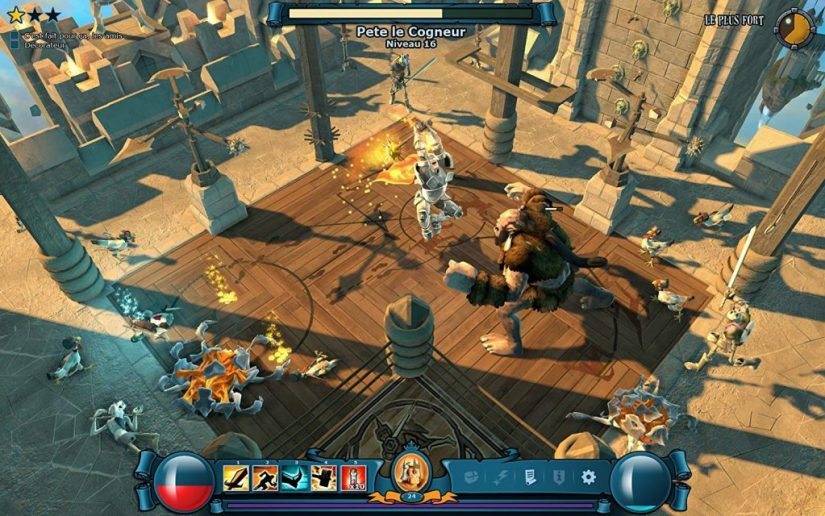 GAME ONLINE THE MIGHTY QUEST FOR EPIC LOOT