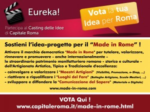Vota il Made in Rome OK
