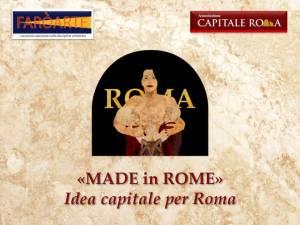 Made in Rome Idea capitale per Roma