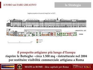 le 36 Botteghe del San Michele per il Made in Rome