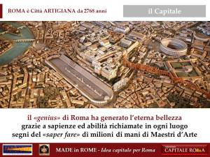 2768 anni del Made in Rome