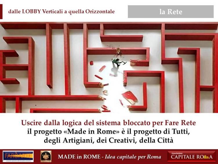 la Lobby del Made in Rome