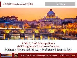 Roma Città Metropolitana dell'Artigianato Artistico e Creativo