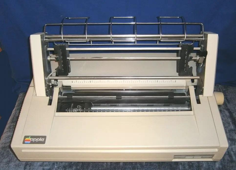 Apple Daisy Wheel Printer