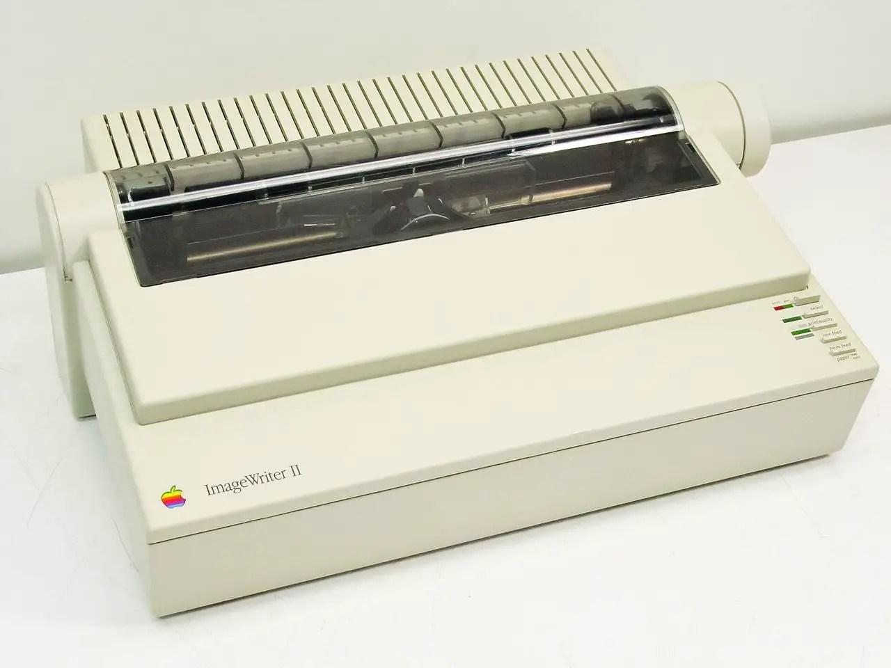 Apple ImageWriter II