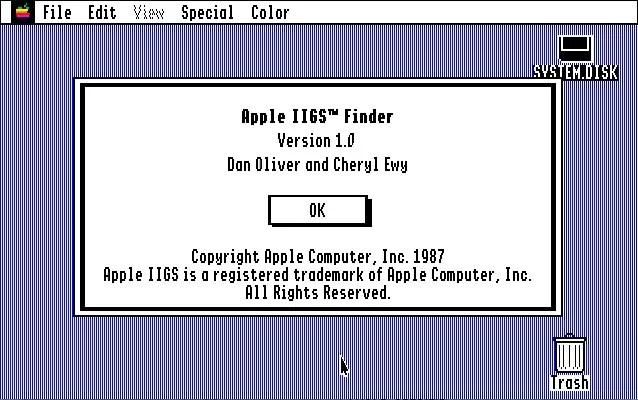 Apple ProDOS 16