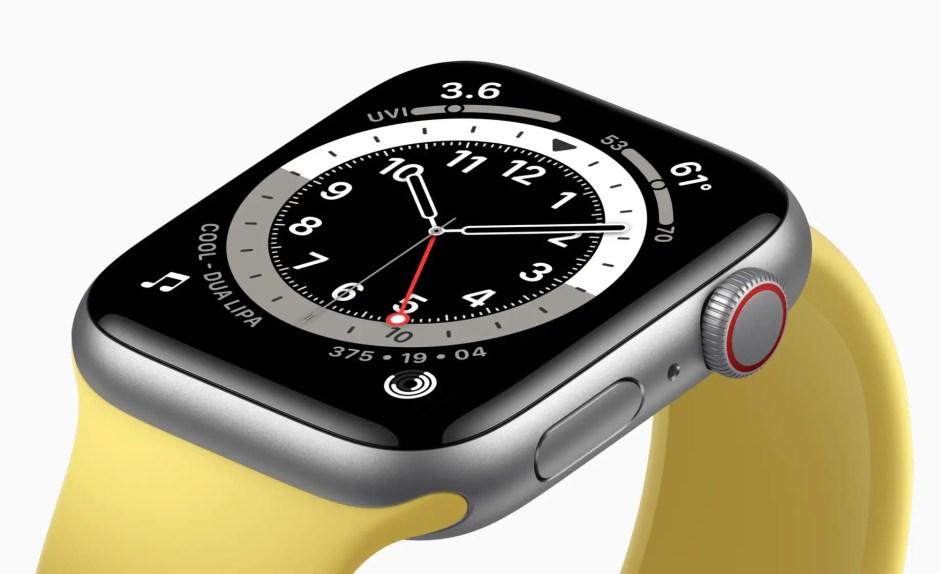 Apple Watch SE Silver Aluminum