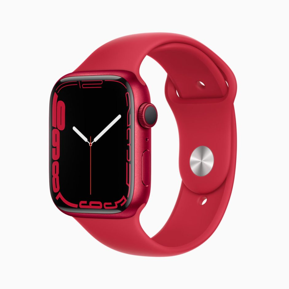 Apple Watch Series 7 (PRODUCT) RED