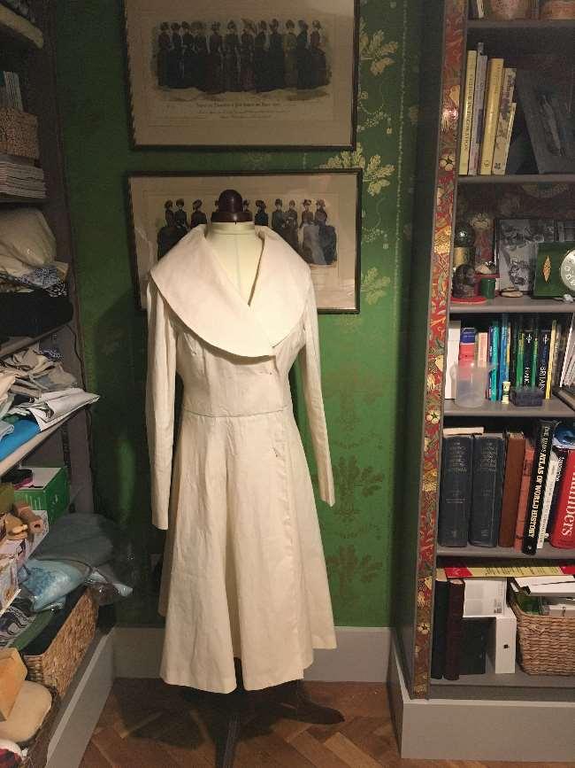 Calico muslin of coat