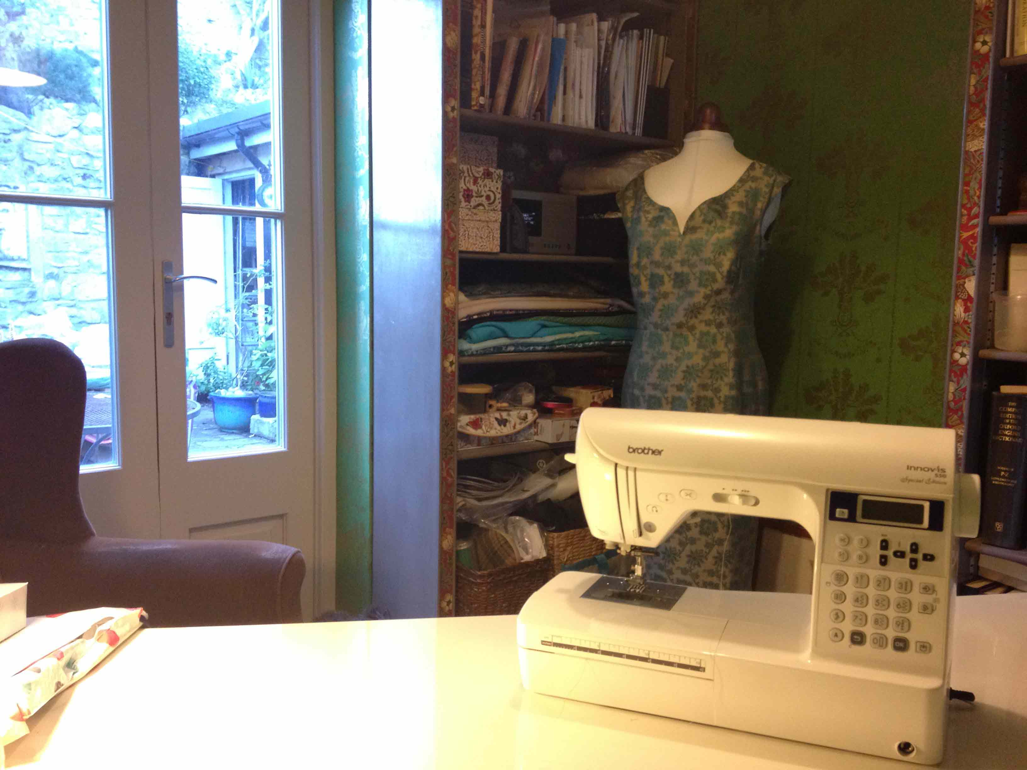 Made@ginjer sewing room
