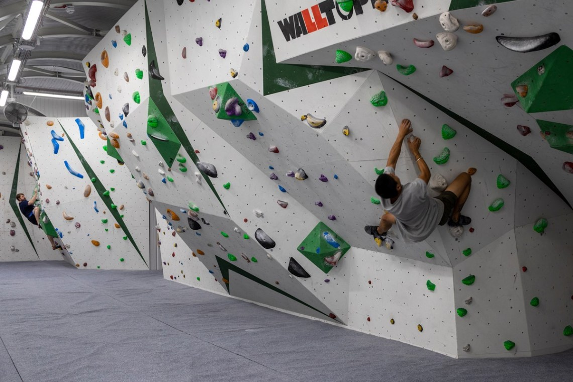 Photo of man bouldering at Ravenswall