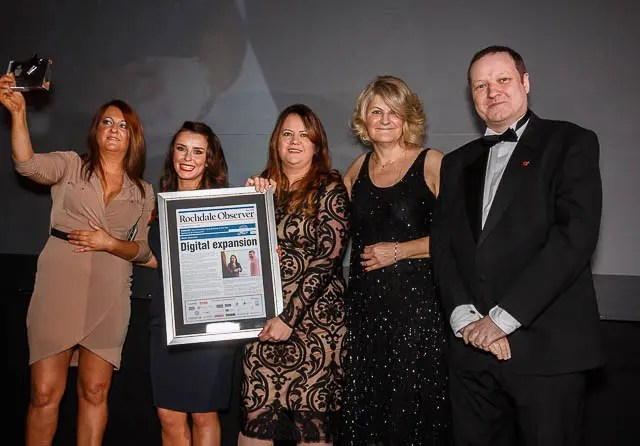 Winners Rochdale's Best Up and coming business