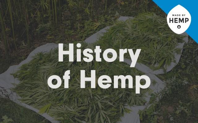 history of hemp cbd