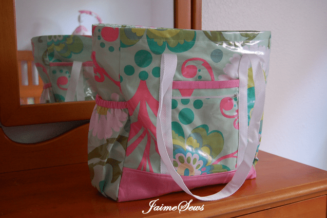 Professional Tote Diaper Bag | Jaime Johnson
