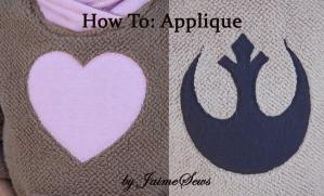 Applique Tutorial | JaimeSews