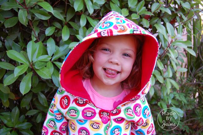 DIY Crush Marketplace Hooded Jacket | MadeByJaime