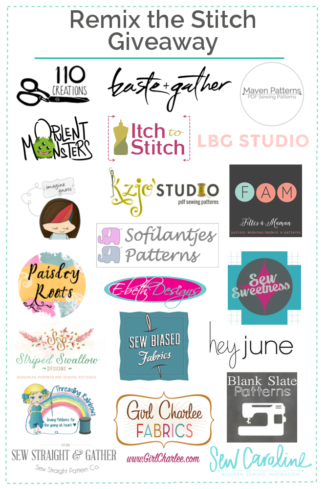 Straight Stitch Designs' Anniversary & Giveaway | MadeByJaime