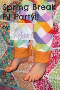 Spring Break PJ Tour Day 4: Pear Berry Lane