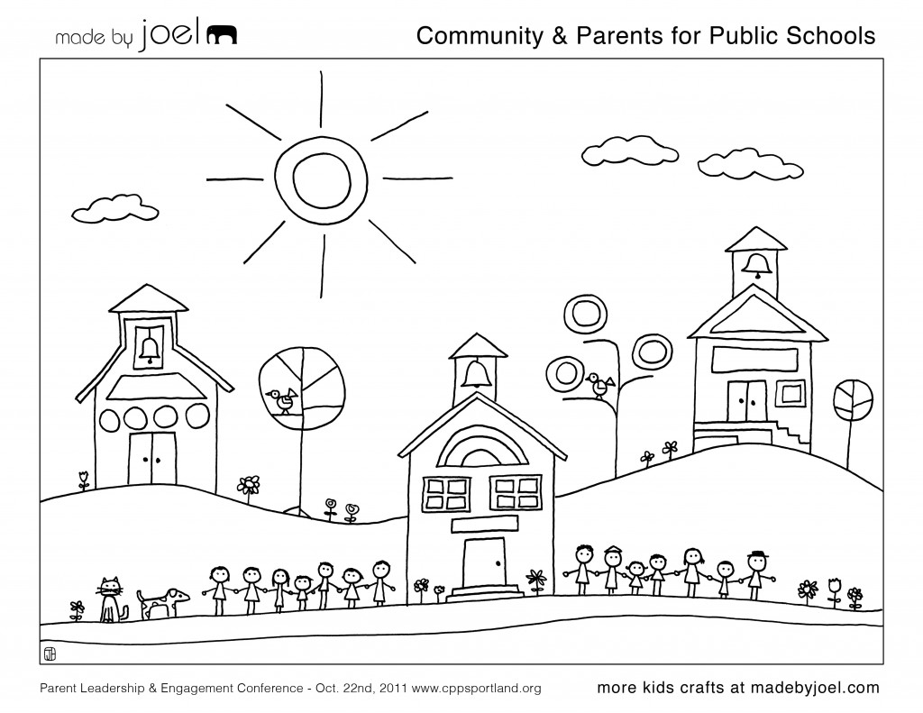 made by joel parents for public schools sheet