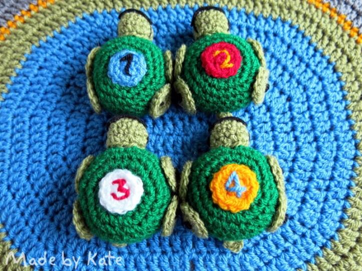 tortoise amigurumi crochet
