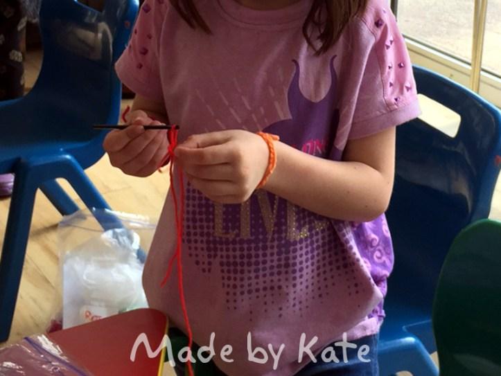 Crochet at Edgebury Primary School