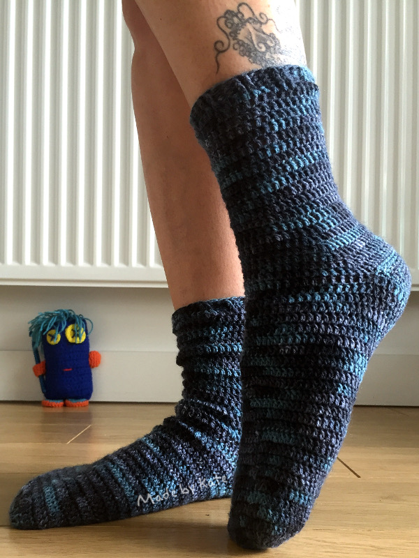 crochet socks kate alinari regia