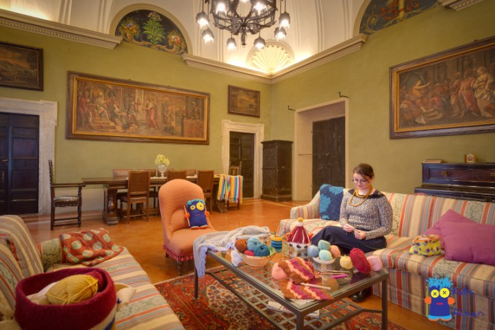 uncinetto e relax a palazzo