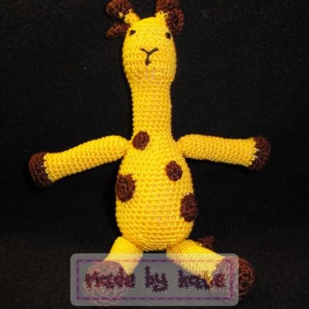 Uncinetto Amigurumi : Sonaglio giraffa - How to do giraffe rattle ... | 450x450