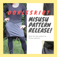 Doris Skirt by Misusu Patterns