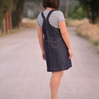 The Callie pinafore - Designer Stitch