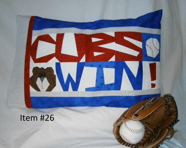 Cubs Win! Pillowcase