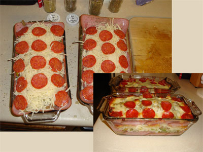 Atkins Pizza Casserole