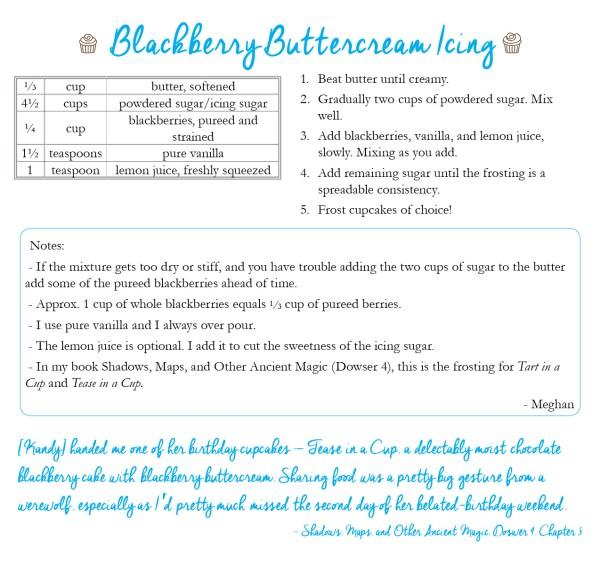 blackberry buttercream