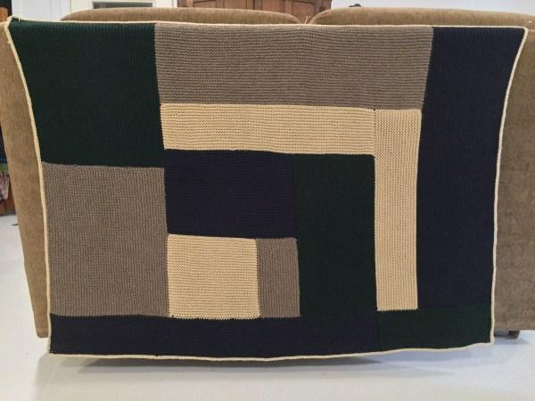 Lev's Moderne Baby Blanket