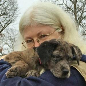 Carol Ann with Gypsy