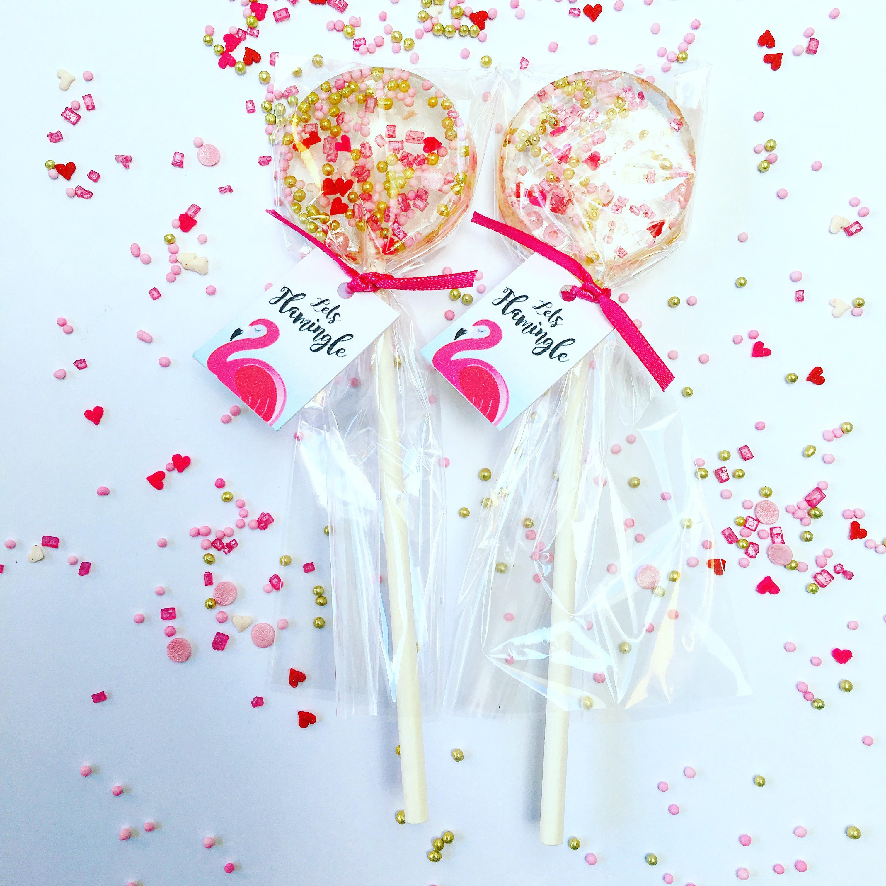 Party Bag Ideas; handmade lollipops by Willow and boo