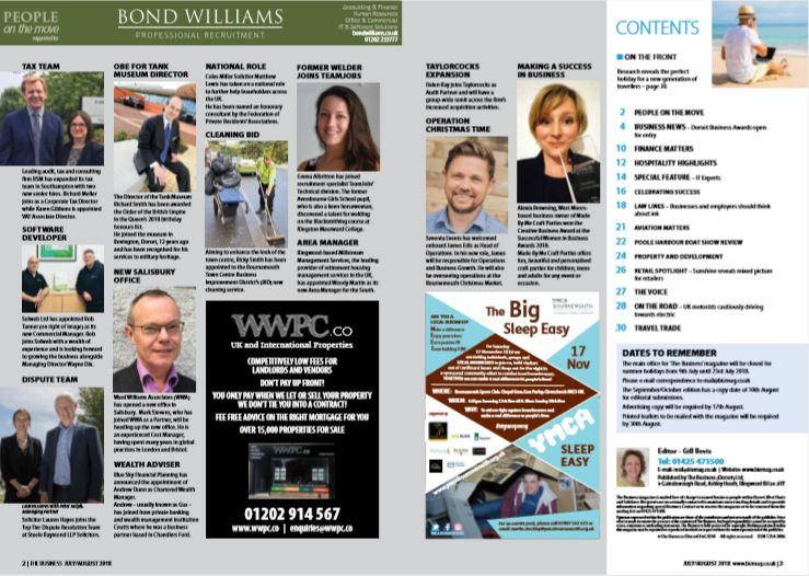 Business Magazine Aug 2018