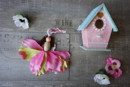Fairy house decorating and fairy making