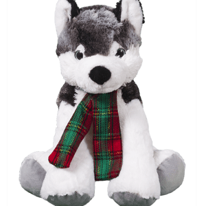 Husky teddy bear to make