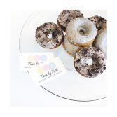 Earl Grey and Cookies n Cream Baked Donuts