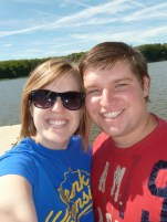 Pit stop at the Mississippi River