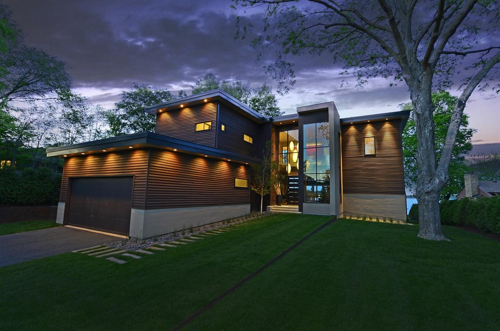 contemporary exterior remodeling ideas