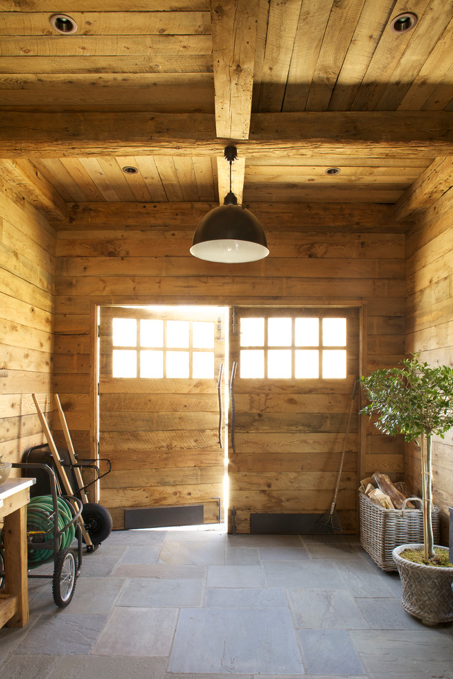 Beautiful Garden Hose Reel In Garage And Shed Rustic With